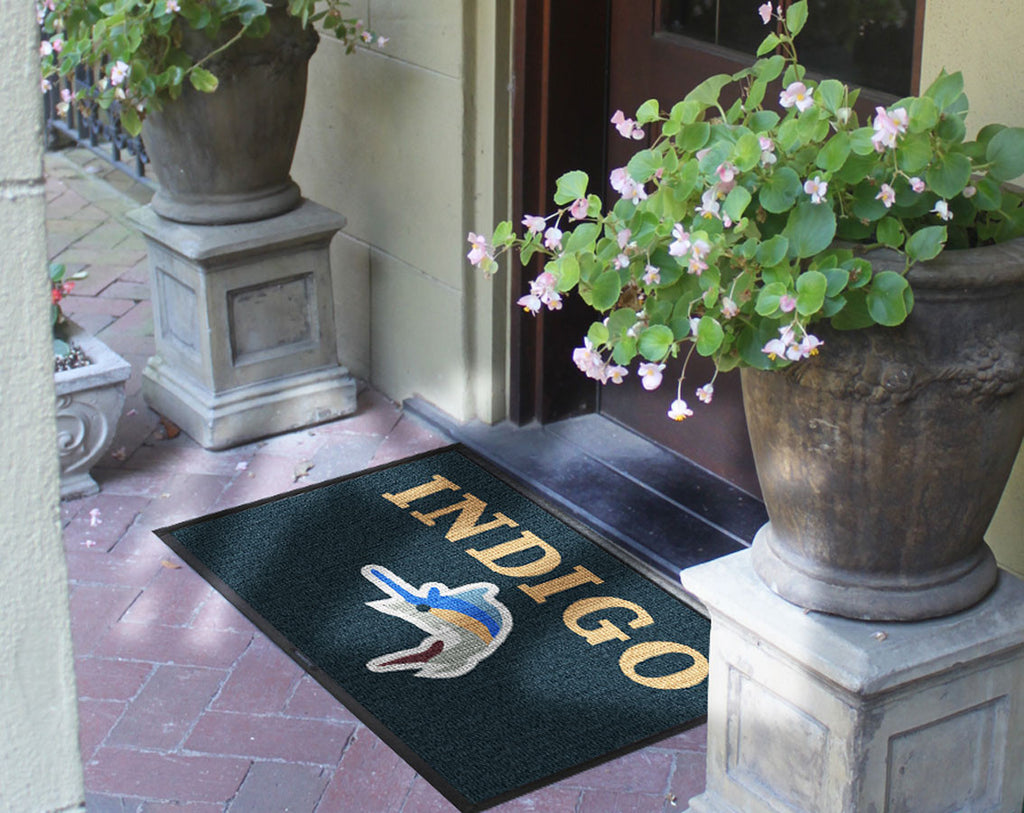 Indigo 2 x 3 Waterhog Inlay - The Personalized Doormats Company