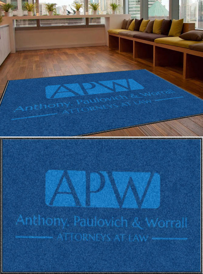 Apw 5 X 8 Custom Plush 30 HD - The Personalized Doormats Company