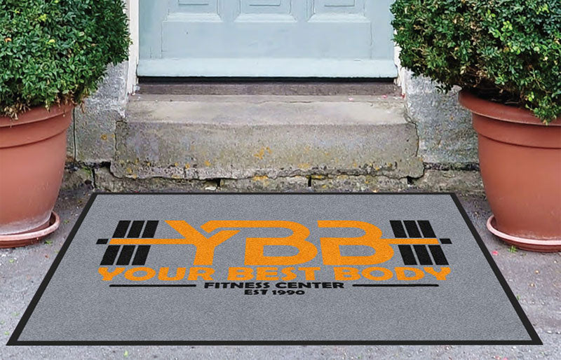 3 X 4 - CREATE -110995 3 x 4 Rubber Backed Carpeted HD - The Personalized Doormats Company