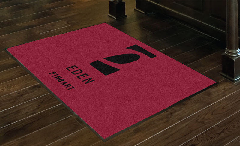 Eden Fine Art 3 x 4 Rubber Backed Carpeted HD - The Personalized Doormats Company