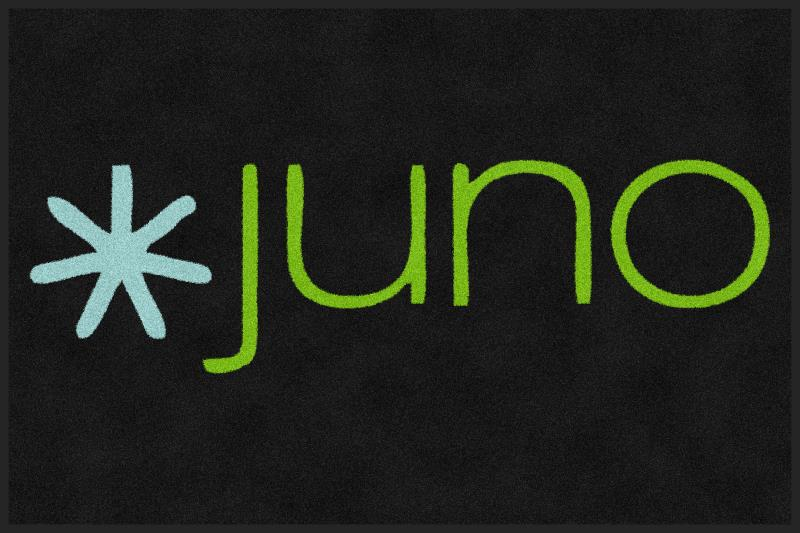 Juno Search Partners 4 x 6 Rubber Backed Carpeted - The Personalized Doormats Company