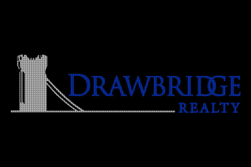 Drawbridge Realty 4 X 6 Waterhog Impressions - The Personalized Doormats Company
