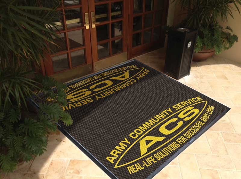 ACS 16 X 16 Luxury Berber Inlay - The Personalized Doormats Company