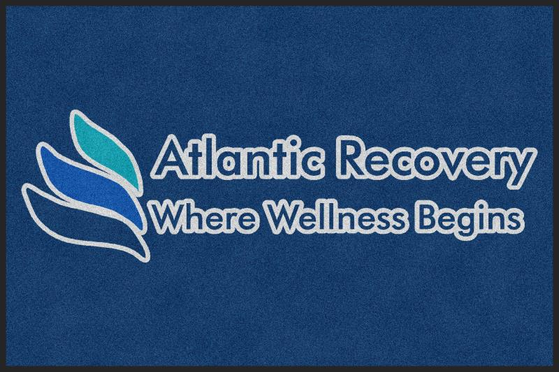 Atlantic Recovery 4 X 6 Rubber Backed Carpeted HD - The Personalized Doormats Company