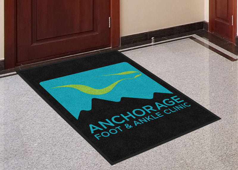 AFAC 3 X 4 Rubber Backed Carpeted HD - The Personalized Doormats Company