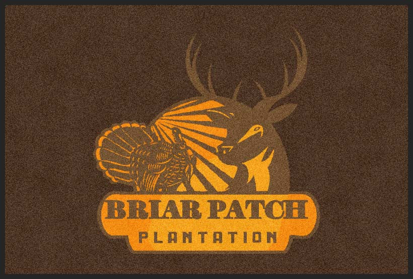 Briar Patch 2 X 3 Rubber Backed Carpeted HD - The Personalized Doormats Company