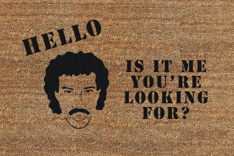 Is It Me You're Looking For? 2 X 3 Flocked Classic Coir (PDC) - The Personalized Doormats Company