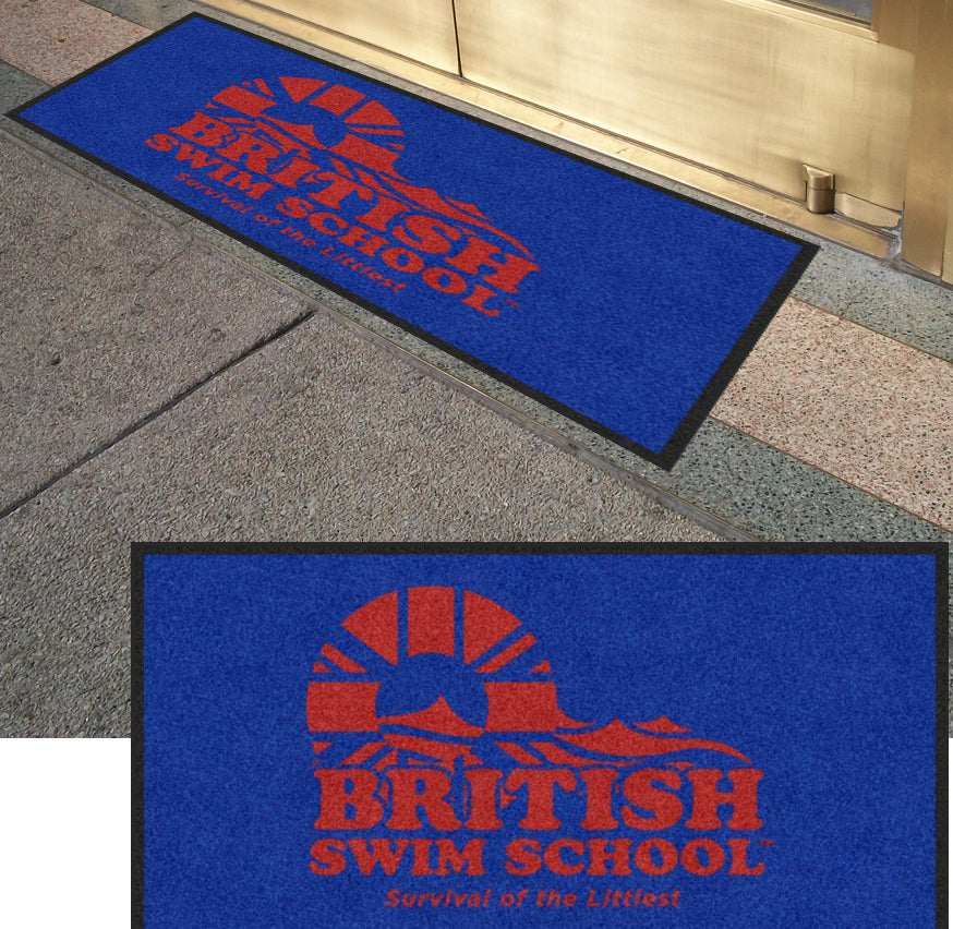 BSS Mat 2 X 4 Rubber Backed Carpeted HD - The Personalized Doormats Company