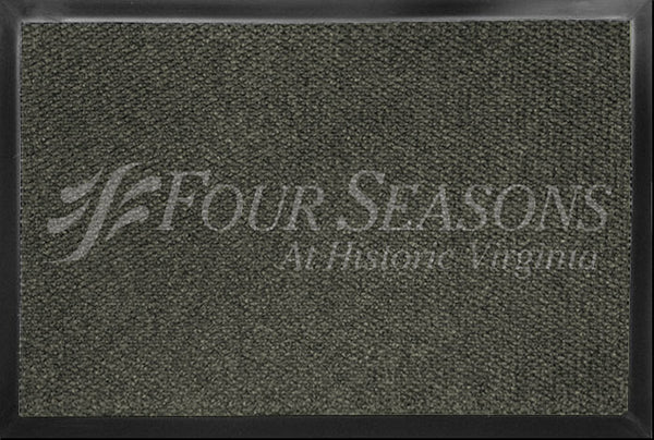 Four Seasons 4 X 6 Luxury Berber Inlay - The Personalized Doormats Company