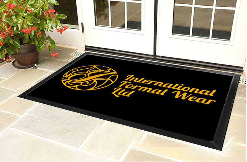 Ifw store mat 4 X 6 Luxury Berber Inlay - The Personalized Doormats Company