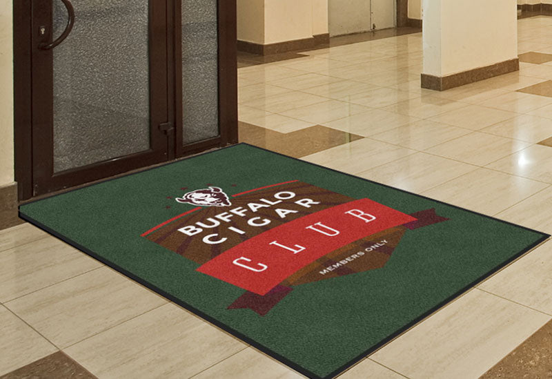 BC Rug 4 X 6 Rubber Backed Carpeted HD - The Personalized Doormats Company