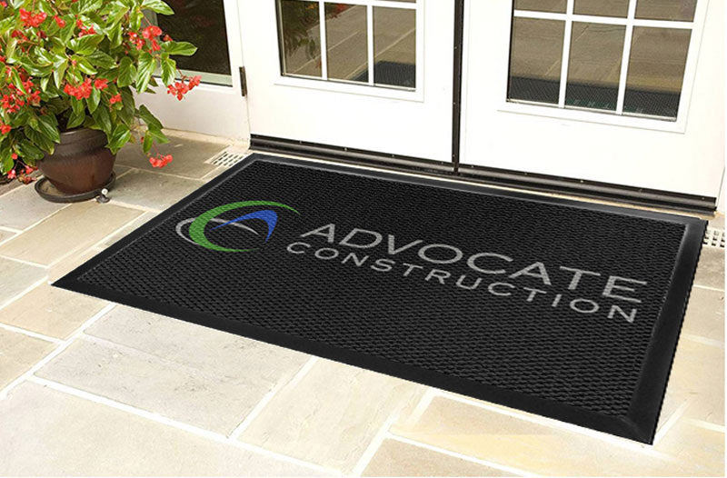 AC Rug 4 X 6 Luxury Berber Inlay - The Personalized Doormats Company