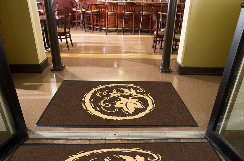 Copain Wines 4 X 6 Rubber Backed Carpeted HD - The Personalized Doormats Company