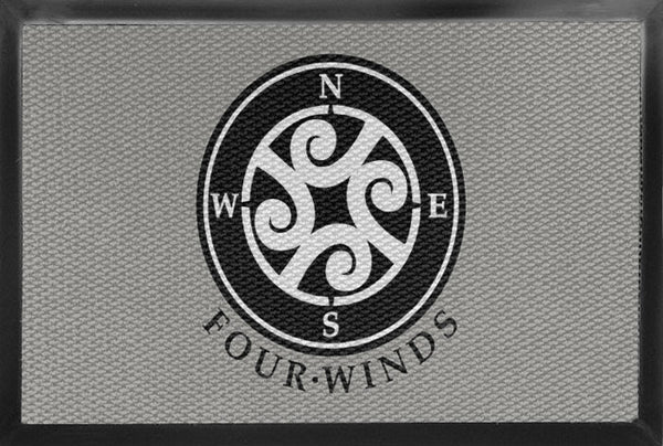 4 Winds 3 X 5 Luxury Berber Inlay - The Personalized Doormats Company