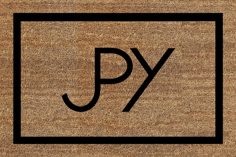 JPY 2 X 3 Flocked Duracoir (PDC) - The Personalized Doormats Company