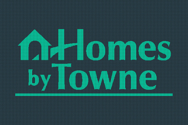 Homes by Towne Entrance 2 X 3 Waterhog Inlay - The Personalized Doormats Company