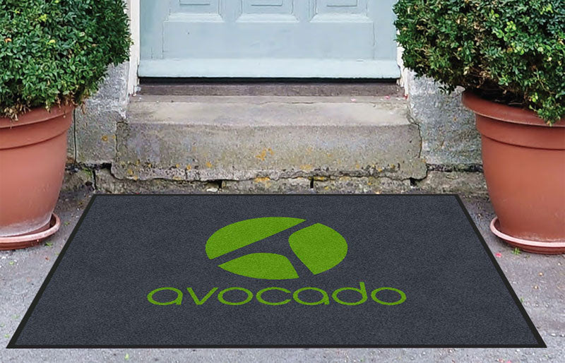 Avocado 3 X 4 Rubber Backed Carpeted HD - The Personalized Doormats Company
