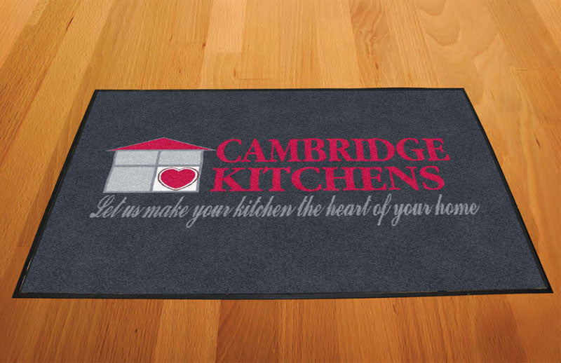 Cambridge 2 X 3 Rubber Backed Carpeted HD - The Personalized Doormats Company