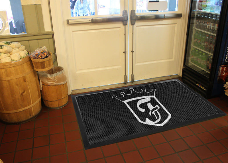 Freddy T 3 X 6 Luxury Berber Inlay - The Personalized Doormats Company