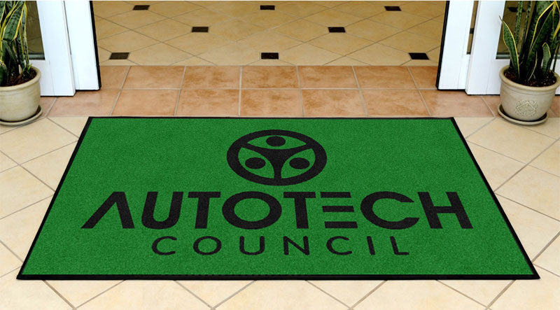 Autotech Council  3x5 3 X 5 Rubber Backed Carpeted HD - The Personalized Doormats Company