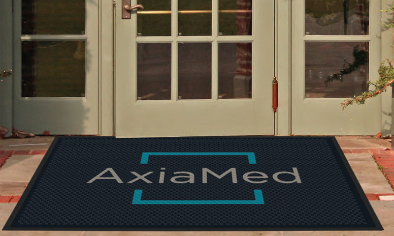 AxiaMed 4 X 6 Rubber Scraper - The Personalized Doormats Company