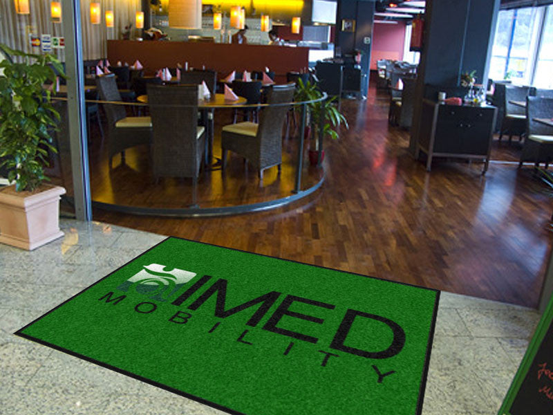 Imed Mobility 6 X 9 Rubber Backed Carpeted HD - The Personalized Doormats Company