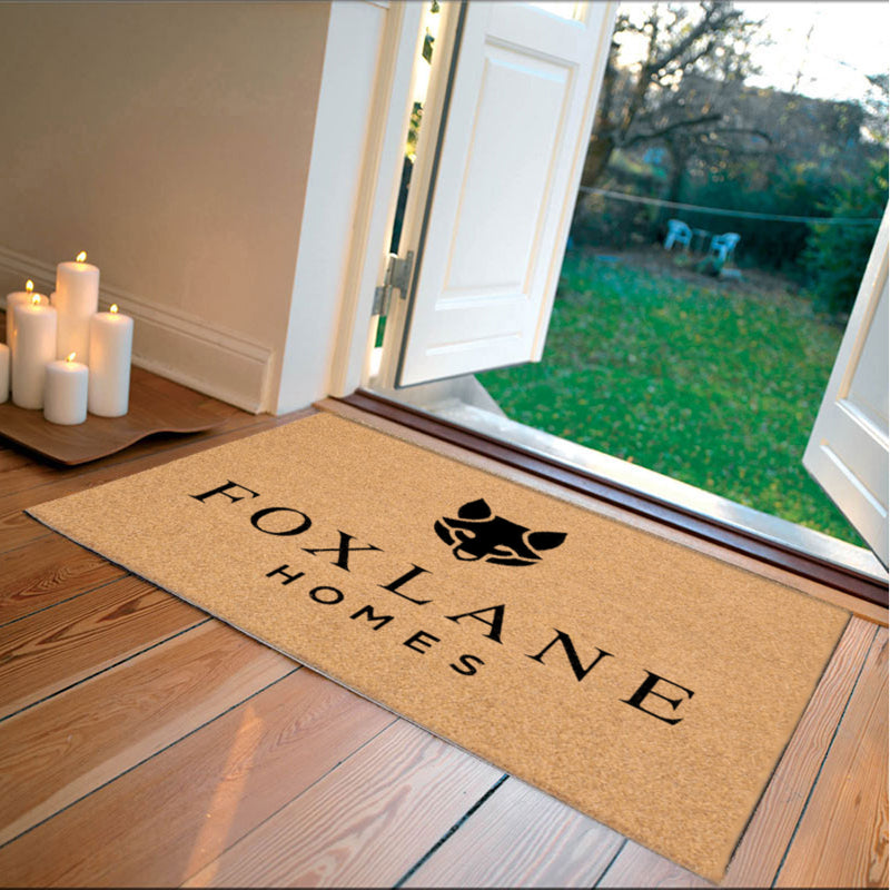 Foxlane Homes Door Mat 2 X 3 Flocked Duracoir (PDC) - The Personalized Doormats Company