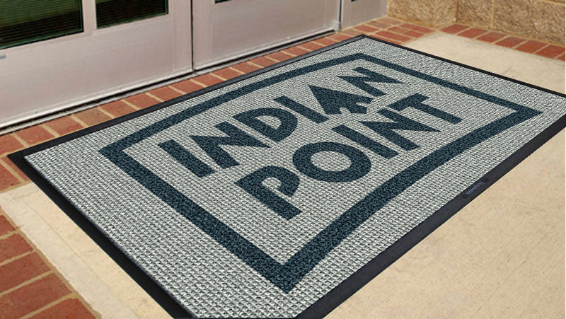 Indian Point 3 x 5 Waterhog Inlay - The Personalized Doormats Company