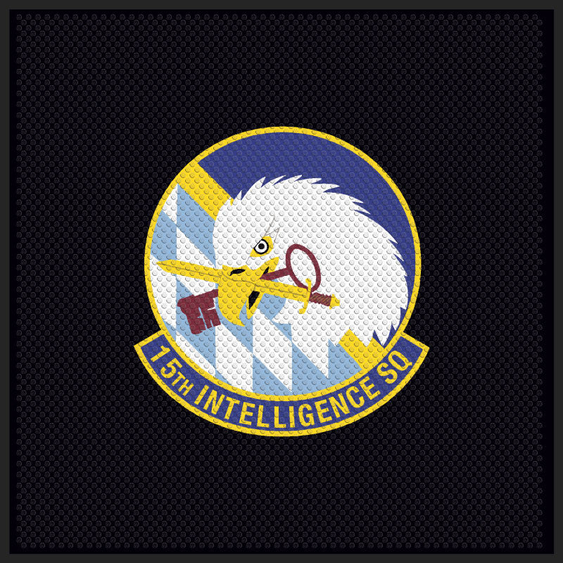 15th Intellligence Squadron Logo Mat