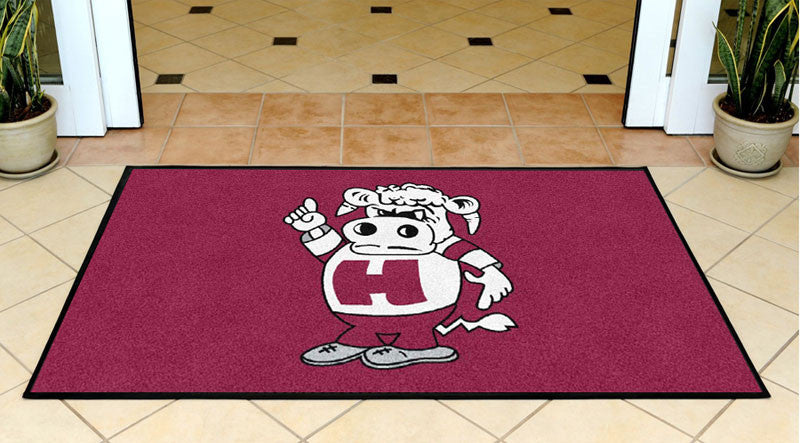 Go herd! 3 X 5 Rubber Backed Carpeted HD - The Personalized Doormats Company