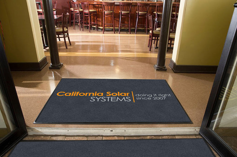 California Solar Systems 4 X 6 Rubber Backed Carpeted HD - The Personalized Doormats Company
