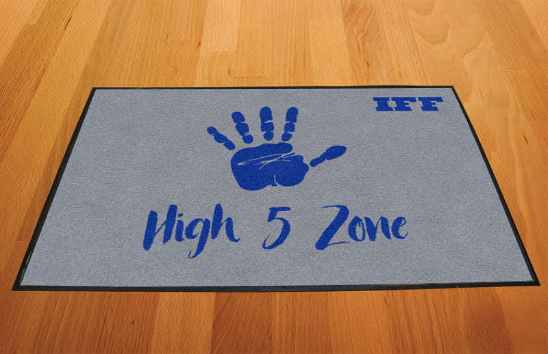 IFF 2 X 3 Rubber Backed Carpeted HD - The Personalized Doormats Company