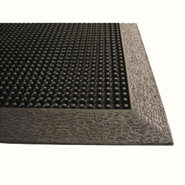 Flex-Tip All Rubber Outdoor Scraper Mat Commercial - The Personalized Doormats Company