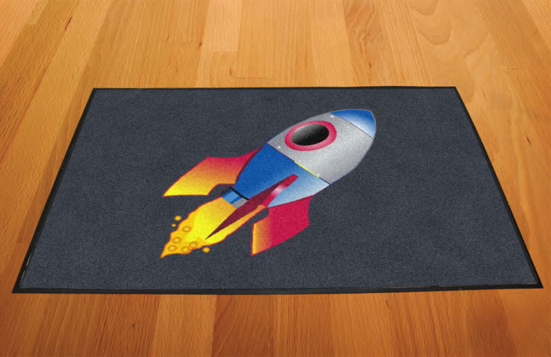 Flipmass 2 X 3 Rubber Backed Carpeted HD - The Personalized Doormats Company