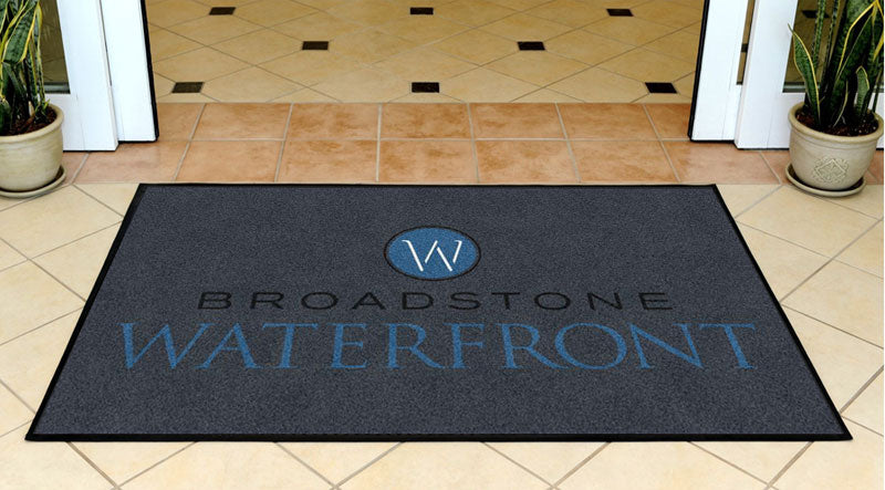 Broadstone Waterfront 3 X 5 Rubber Backed Carpeted HD - The Personalized Doormats Company
