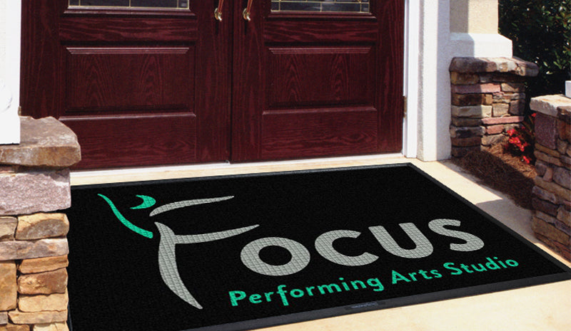 Focus Performing Arts Studio 4 X 6 Waterhog Inlay - The Personalized Doormats Company