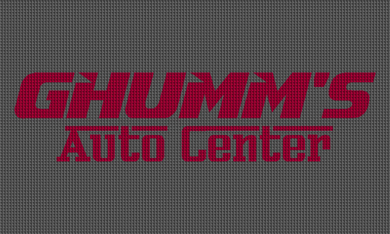 Ghumm's Auto Center 3 X 5 Waterhog Impressions - The Personalized Doormats Company