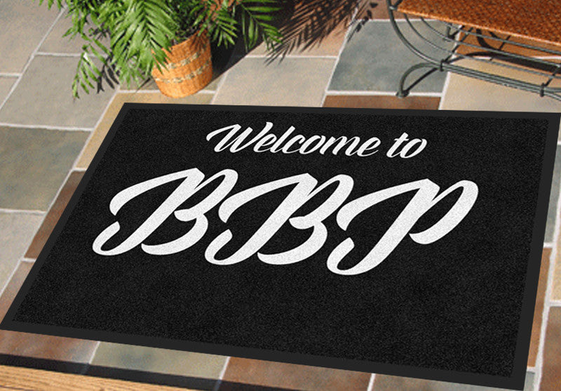 BBP2 2 X 3 Rubber Backed Carpeted HD - The Personalized Doormats Company