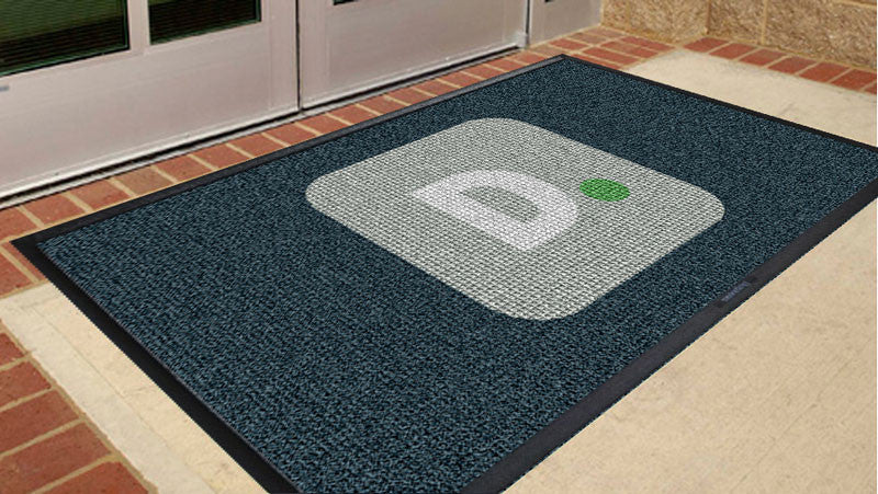 Deloitte 3 x 5 Waterhog Inlay - The Personalized Doormats Company