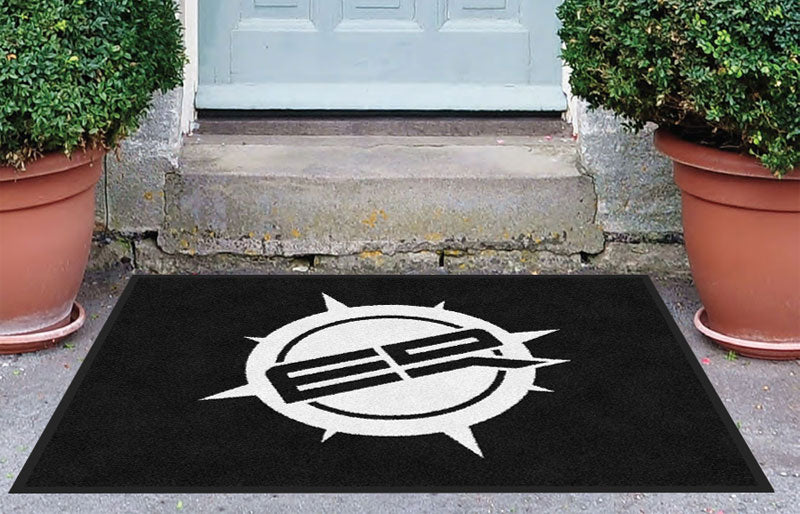 ER 3 x 4 Rubber Backed Carpeted - The Personalized Doormats Company
