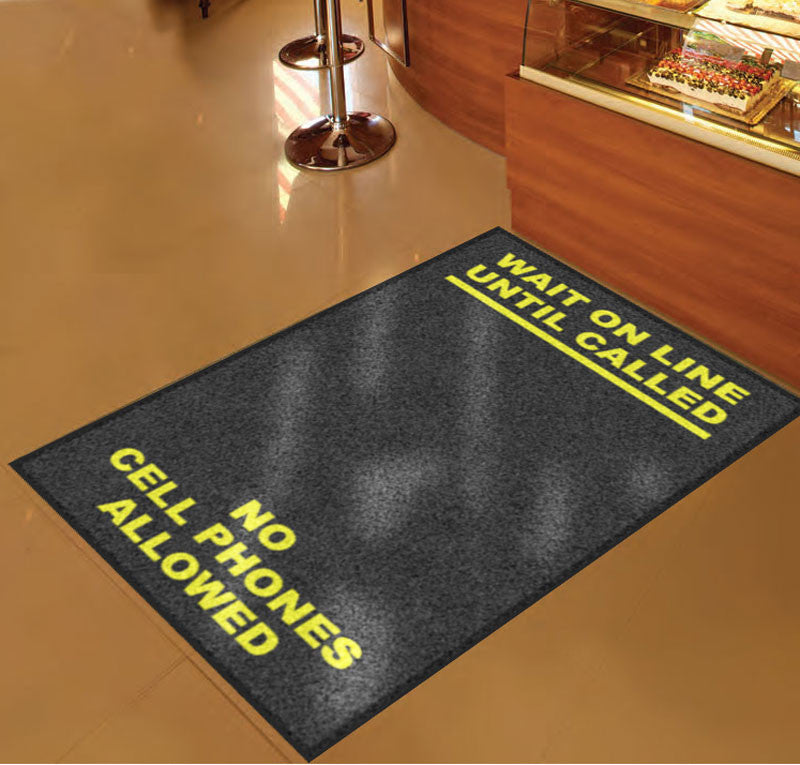 GuilfordCountyFacilitiesRug 59174_paths 3 x 5 Rubber Backed Carpeted HD - The Personalized Doormats Company