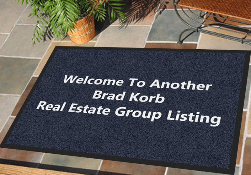 BKREG 2 X 3 Rubber Backed Carpeted HD - The Personalized Doormats Company