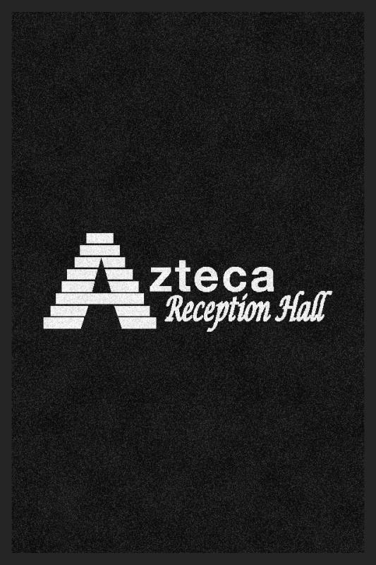 Azteca Reception Hall 2 X 3 Rubber Backed Carpeted HD - The Personalized Doormats Company
