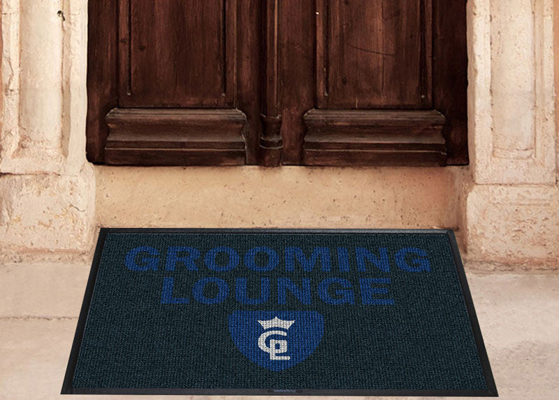 grooming lounge 2 X 3 Waterhog Inlay - The Personalized Doormats Company