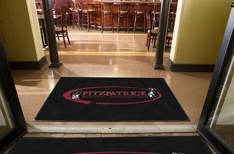 Fitzpatrick Painting 4 X 6 Rubber Backed Carpeted HD - The Personalized Doormats Company