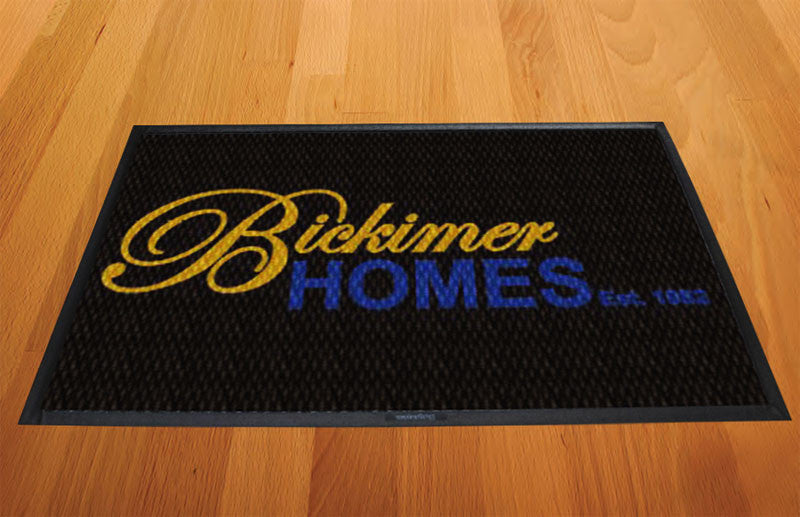 Bickimer Homes 2 X 3 Luxury Berber Inlay - The Personalized Doormats Company