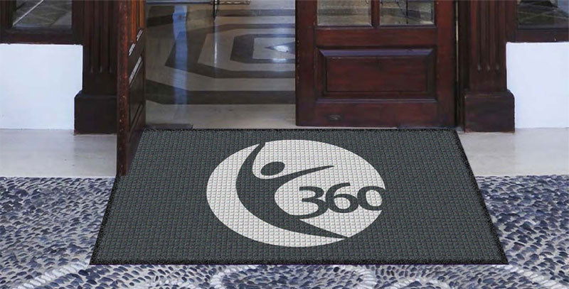 360 Tumble 3 x 5 Waterhog Impressions - The Personalized Doormats Company