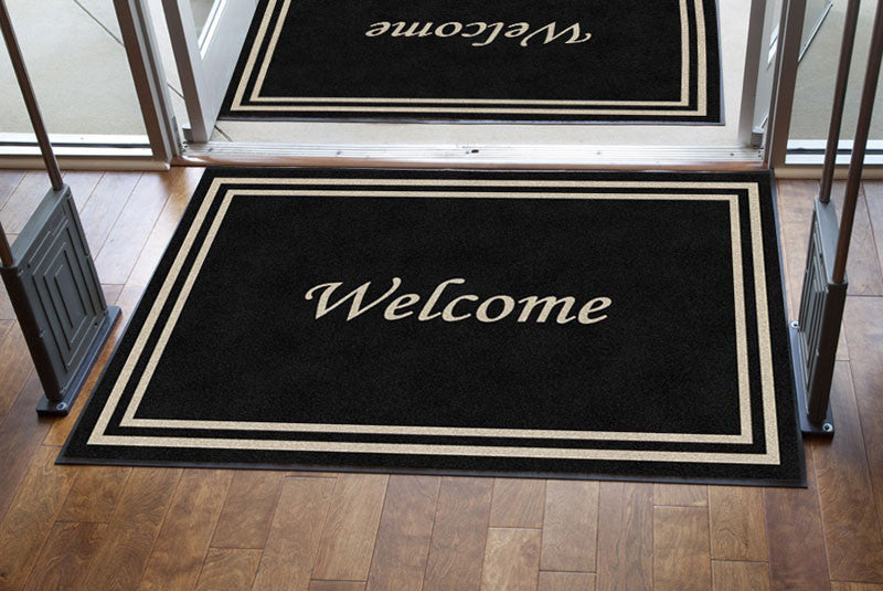Benton House 4 X 6 Rubber Backed Carpeted HD - The Personalized Doormats Company