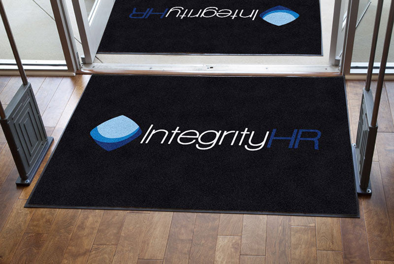 Integrity HR, Inc 4 x 6 Rubber Backed Carpeted HD - The Personalized Doormats Company