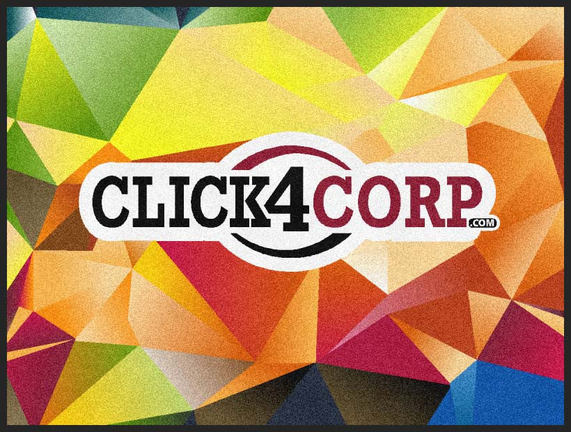 Click4Corp 3 X 4 Rubber Backed Carpeted HD - The Personalized Doormats Company